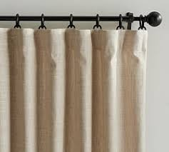 Pottery Barn Linen Curtains Linen Curtains Linen Drapes Pottery Barn