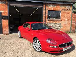 red maserati used 2000 maserati 3200 3 2 gt v8 2d 370 bhp fsh for sale in