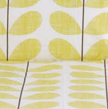 Orla Kiely Multi Stem Duvet Cover Scribble Stem Bedding Soft Lemon