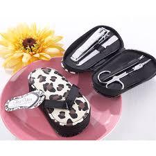 flip flop wedding favors free shipping 10pcs lot wedding favors and gifts leopard dot flip