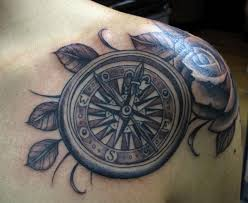3d Compass Tattoos 100 Compass Tattoos To Point The Way Tattoozza