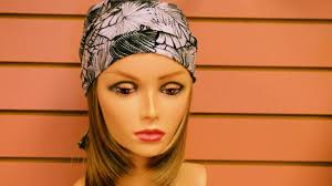 simple hair bandana for covering patch of bald head for ladies hair accessories head coverings wig a do youtube