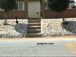 landscaping tips sloped rock and concrete erosion control