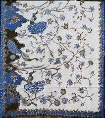 merak biru batik lasem bledak burung merak btls 011 batik tulis lasem