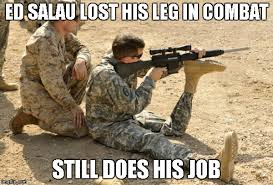 Soldier Meme - still does his job imgflip