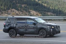 first subaru forester 2019 subaru tribeca replacement spied for the first time