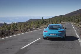 miami blue porsche gt3 rs ten things you learn driving the new turbo porsche 911 carrera