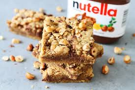 hazelnut nutella cookie bars the pioneer woman