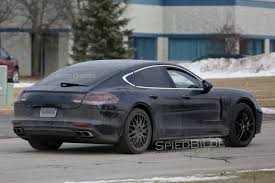 new porsche panamera 2017 2017 porsche panamera spied fully exposed inside and out