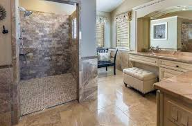 Flooring Ideas For Bathrooms Travertine Shower Ideas Bathroom Designs Designing Idea