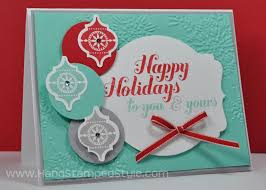 handmade cards say more than just happy holidays
