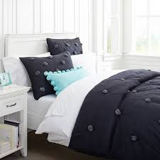Bed Linen For Girls - chic black and white bedding for teen girls bedding sets white