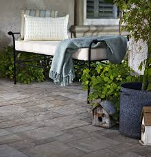patio ideas with pavers stamped concrete vs pavers for your driveway or patio install