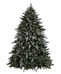 flocked tree aspen spruce artificial flocked christmas tree tree classics