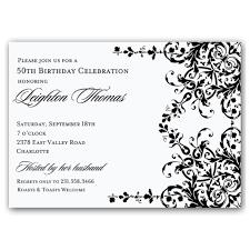 50th birthday invitations printable