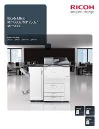 download free pdf for ricoh aficio 120 multifunction printer manual
