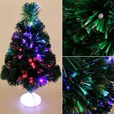 Christmas Tree With Optical Fiber Lights - aliexpress com buy 45cm optical fiber color light emulate
