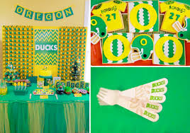 kara s ideas oregon ducks football sports boy birthday