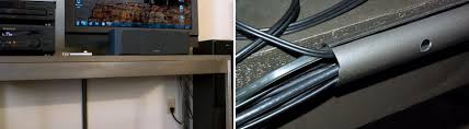 Desk With Cable Management by Simple Cord Management Solutions That Can Make Life Easier