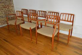 Danish Mid Century Dining Chairs by Beautiful Set Of 8 J L Moller Danish Teak Dining Chairs