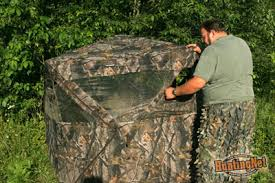 Pop Up Ground Blind Hunting From A Ground Blind