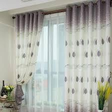 rideau pour chambre fenêtre impression personnalisée prêt à l emploi rideau pour salon