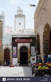bureau de change 12 essaouira morocco may 12 2014 showing bureau de