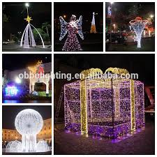 Giant Commercial Outdoor Christmas Decorations by Outdoor Christmas Ornament Led Decoration Light Giant Motif Gift
