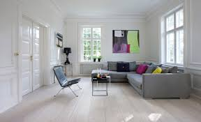 Wohnzimmer Und Schlafzimmer Kombinieren Schickes Wohnzimmer Mit Douglasie Dielenboden Wohnen Pinterest