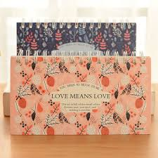 agenda sur bureau jardin de l amour plan hebdomadaire spirale portable calendrier