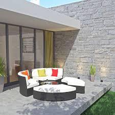 Outdoor Patio Daybed Best Scheme Modern Pursuit Circular Outdoor Patio Daybed