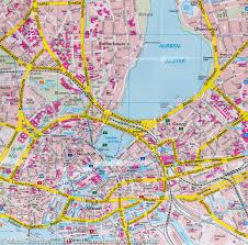 Germany City Map by Hamburg City Pocket Map Germany Freytag U0026 Berndt U2013 Mapscompany