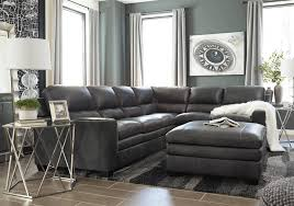 Laf Sofa Sectional Gleason Charcoal 2pc Laf Sofa Sectional Overstock