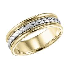 frederick goldman wedding bands frederick goldman 14k tt gold men s wedding band harris jeweler