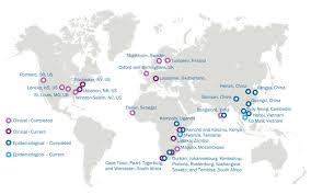 Dakar Senegal Map About Aeras Aeras