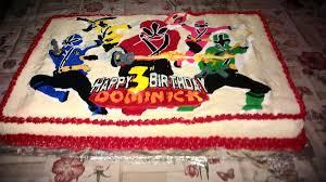 power rangers birthday cake power rangers samurai bday cake cakecentral