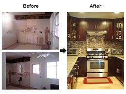 Before And After Small Kitchen by Download Before And After Remodeling Michigan Home Design