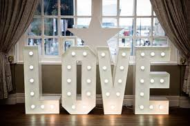 white light up letters light up letters mr mrs wirral liverpool manchester