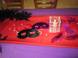 how to decorate a birthday dinner red purple u0026 black theme my