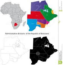 Botswana Map Botswana Map Royalty Free Stock Image Image 21579966