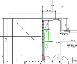 Jack And Jill Bathroom Plans Narrow Accessible Jack U0026 Jill Bathroom Help