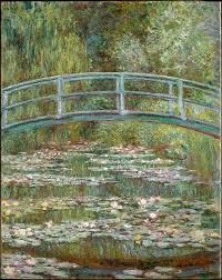 claude monet bridge over a pond of water lilies the met