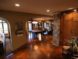 Covering Concrete Walls In Basement by Best 25 Concrete Basement Walls Ideas On Pinterest Basement