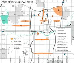 Maps Okc Commercial District Revolving Loan Fund City Of Okc