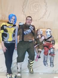 borderlands halloween costume chicago wizard con borderlands characters cosplay axton maya