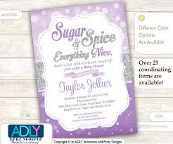sugar and spice and everything baby shower product search sugar spice catch my party