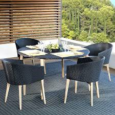 all weather dining table all weather wicker dining table and chairs lovable outdoor sofa and