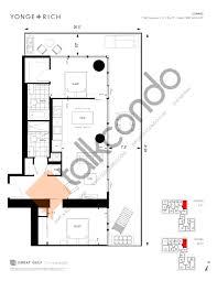 One Bloor Floor Plans Yonge Rich Condos Talkcondo