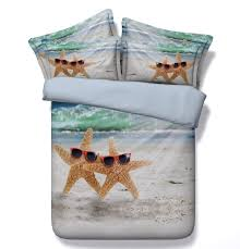 Beachy Comforters Beach Bedding Shell Island Quilt King Beach Room Cottage