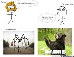 Huge Spider Memes Image Memes - giant scary spiders memes